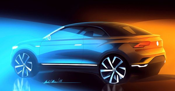 Preview: Volkswagen VW T-Roc Cabrio (2020)