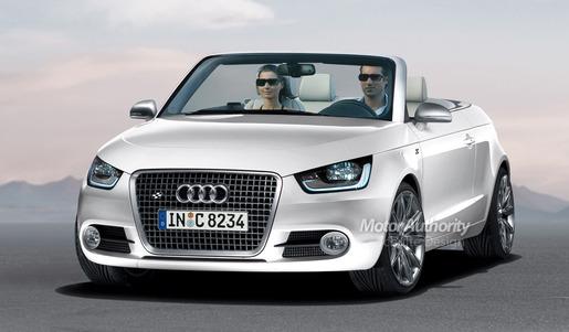 Audi A1 Cabrio Impressie