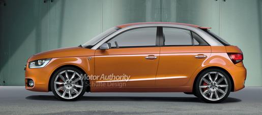 Audi A1 Vijfdeurs Impressie