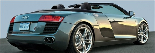 Audi R8 Cabrio