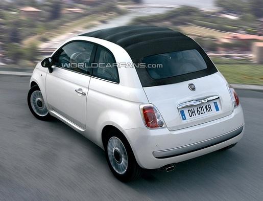 Preview: Fiat 500 Cabrio