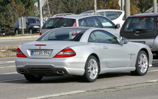 Preview Mercedes SL 2009