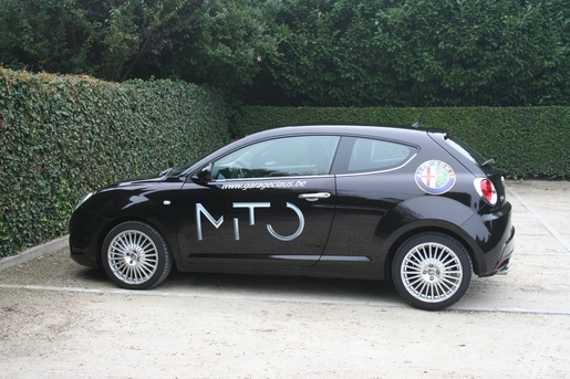 Alfa Romeo MiTo profielaanzicht