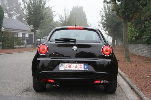 Rijtest Alfa Romeo MiTo remlichten achter