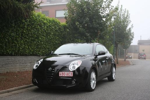 Alfa Romeo MiTo Rijtest vooraanzicht