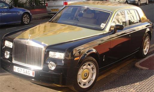 Gouden Rolls Royce Phantom Hoezo Crisis Groenlicht Be