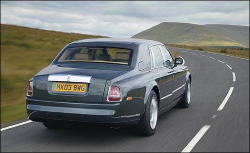 Rolls Royce Phantom Achterkant