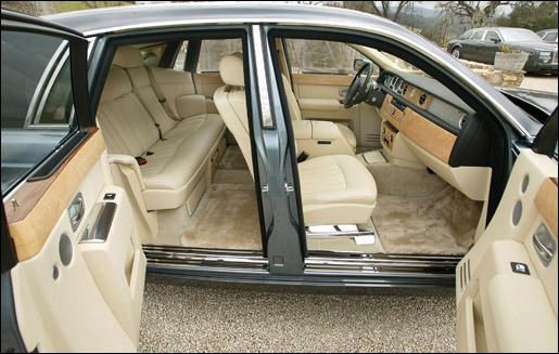 Rolls Royce Phantom Zelfmoorddeuren