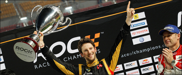 romain grosjean Race of champions