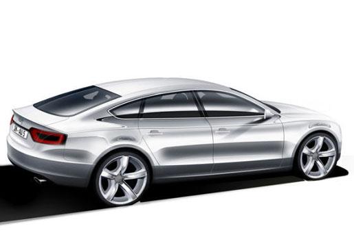 Schets: Audi A5 Sportback