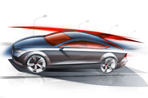 Schets Audi A7