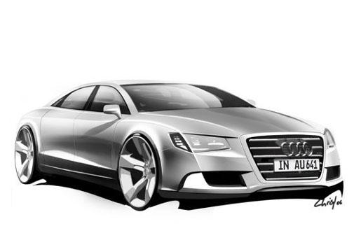 Schets Audi A8