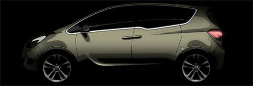 Opel Meriva Concept FlexDoors