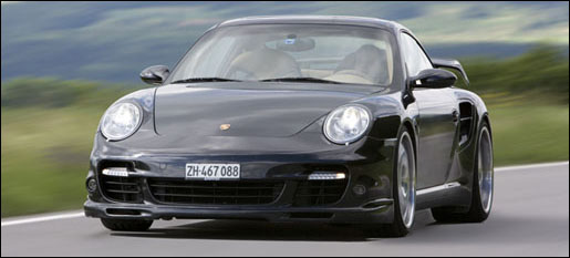 Porsche 911 Turbo Sportec SP580