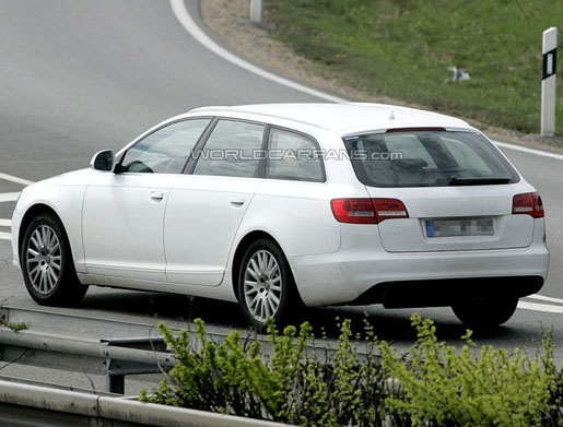 Spyshots: Audi A6 Avant Facelift