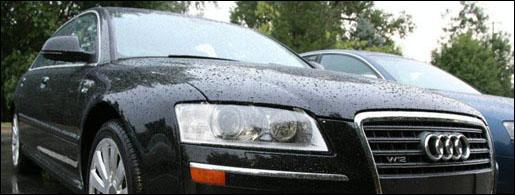 Spyshots Audi A8 Facelift
