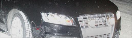Spyshots: Audi RS5 Mule
