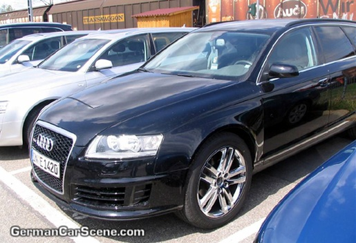 Spyshots: Audi RS6 Allroad
