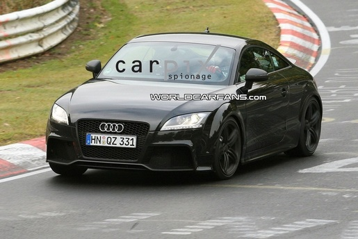 Spyshots: Audi TT RS Ring