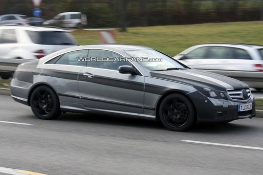 Spyshots: Mercedes E-Klasse Coupé