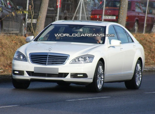 Spyshots: Mercedes S-klasse 2010