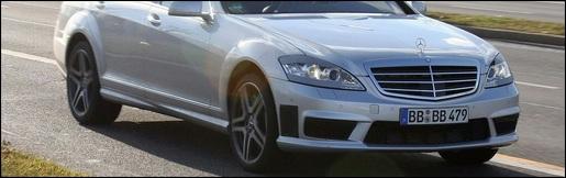 Spyshots: Mercedes S-klasse AMG 2010