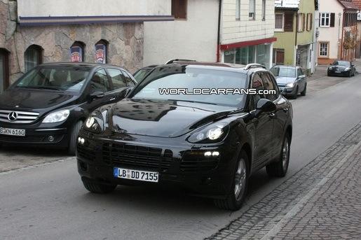 Spyshots: Porsche Cayenne 2011