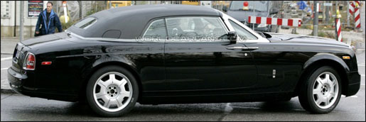 Spyshots Rolls Royce Coupé