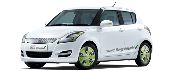 Suzuki Swift Range Extender 2012