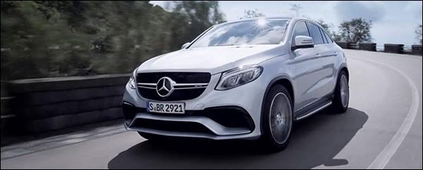 Teaser: Mercedes-AMG GLE 63 Coupé