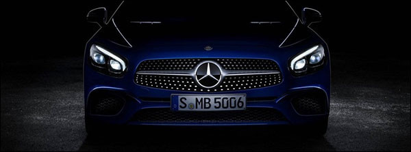 Teaser: Mercedes SL-Klasse facelift (2016)