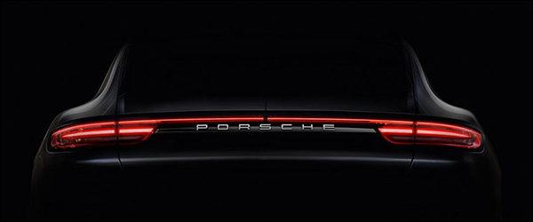 Teaser: Nieuwe Porsche Panamera komt op 28 juni 2016!