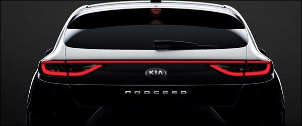 Teaser: Kia Proceed (2018)