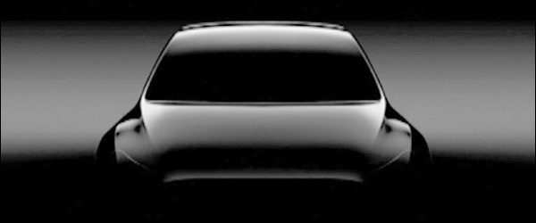 Teaser: Tesla Model Y crossover (2019)