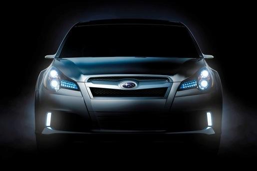 Teaser: Subaru Legacy concept
