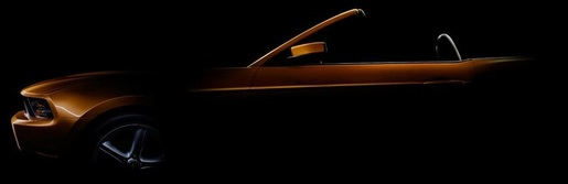 Teaser: Ford Mustang GT 2010