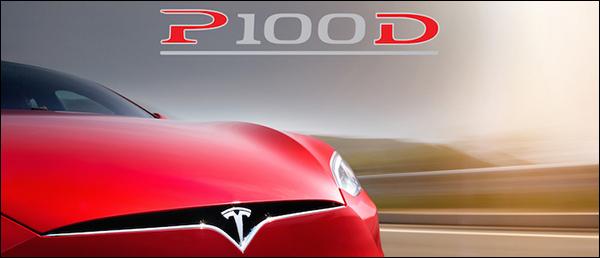 Officieel: Tesla Model S P100D & Model X P100D [100 kWh batterij]