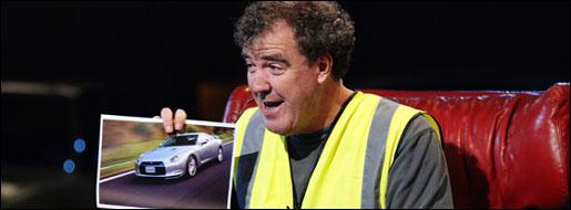 Jeremy Clarkson Nissan GTR Top Gear