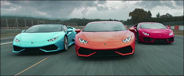 Video: Lamborghini Huracan racet tegen de klok