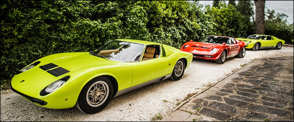 Video: Lamborghini Miura 50th Anniversary Tour
