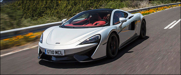 Autosalon Brussel 2017: McLaren line-up