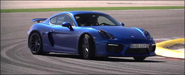 Video: Chris Harris test de Porsche Cayman GT4
