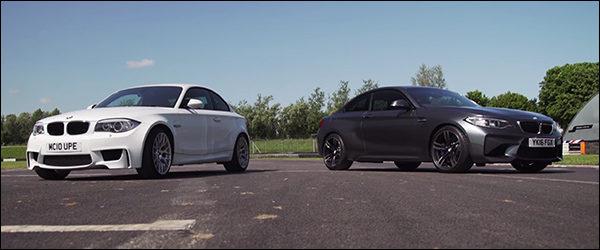 Video: BMW 1M Coupé vs M2 Coupé