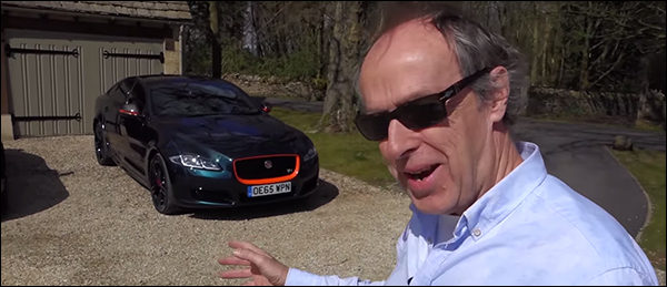 Video: Harry Metcalfe test de Jaguar XJ R