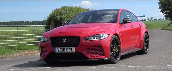 Video: Harry Metcalfe test de Jaguar XE Project 8 (2018)
