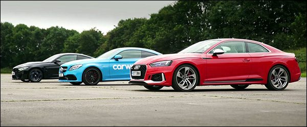 Poll: Audi RS5 vs BMW M4 vs Mercedes-AMG C63 S
