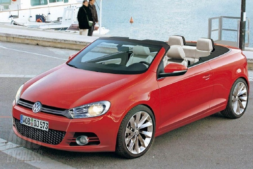 preview volkswagen golf 6 cabrio. Black Bedroom Furniture Sets. Home Design Ideas