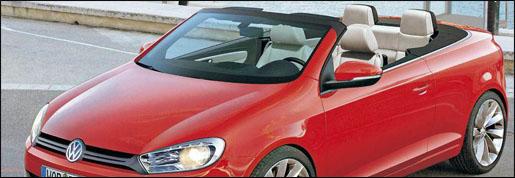 Volkswagen Golf 6 VI Cabrio Preview