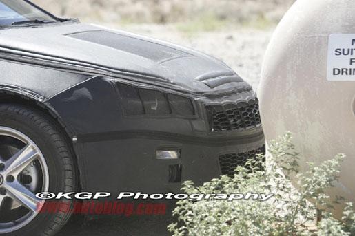 Volkswagen Scirocco Spyshot
