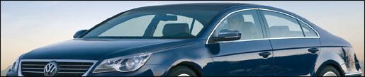 Volkswagen vierdeurscoupé impressie 2009